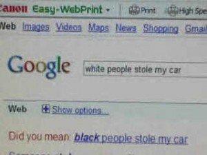 """Google Racism Keyword Evidence """"Most Shocking"""""""